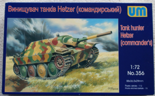 UM 1/72 356 Hetzer Command Version